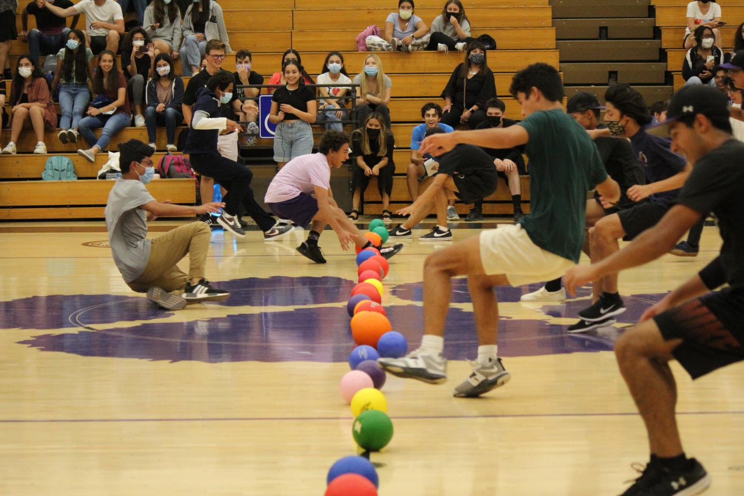 StuCo Hosts Class Dodgeball Competition